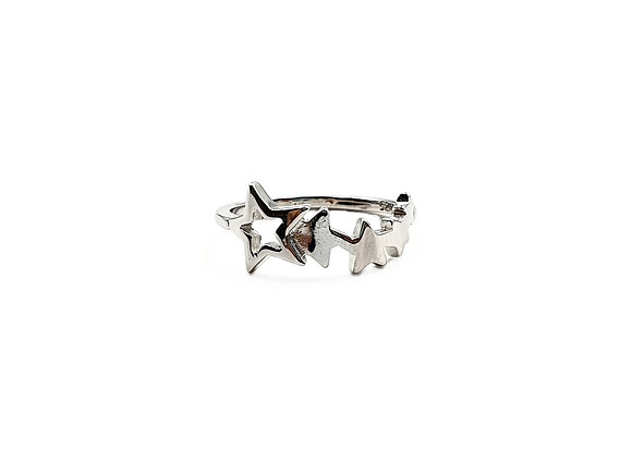The Shooting Star 925 Sterling Silver Ring