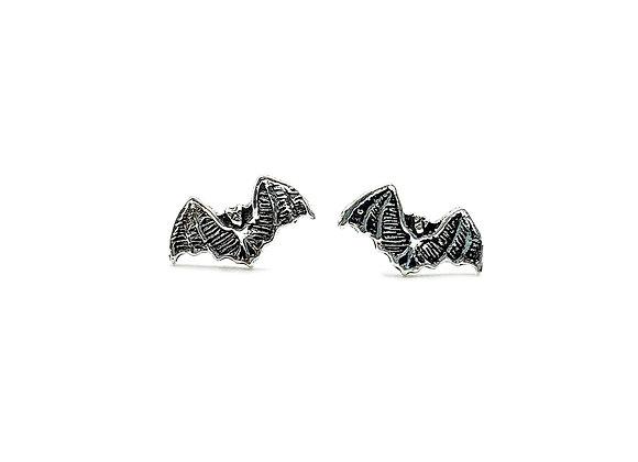 The Flying Bats 925 Sterling Silver Studs Earrings