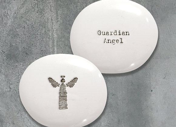 Guardian Angel Positivity Pebble