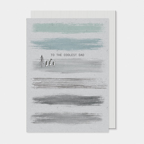 'To the coolest Dad' Greeting Card A6
