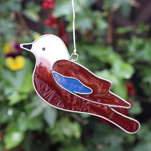 Jay Bird Hanging Suncatcher