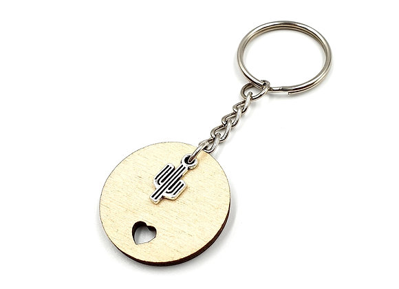 The Cactus Key Ring