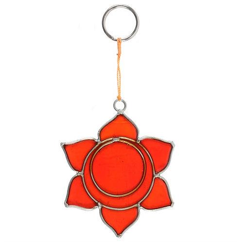 The Sacral Chakra Hanging Suncatcher