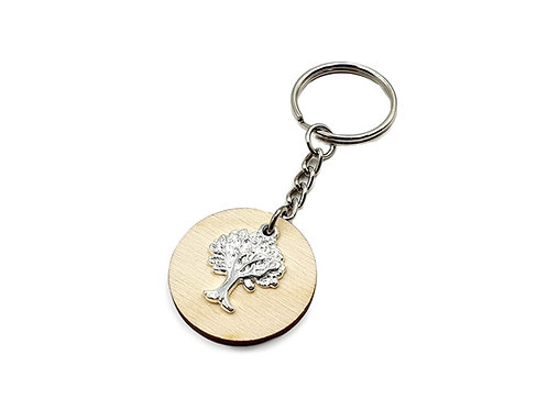 The Oak Tree Key Ring