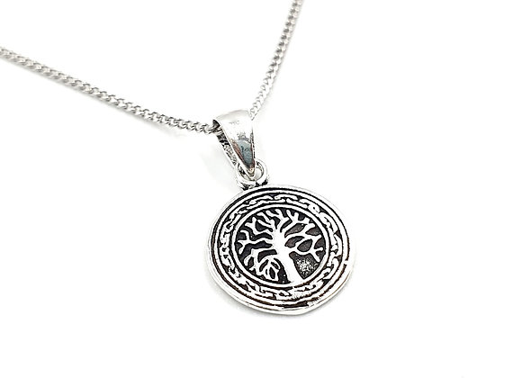 Silver Necklace, Tree, Tree of life necklace, Silver tree of life Necklace, Sterling Silver tree of life necklace,