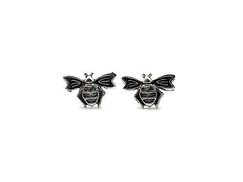 The Vintage Bee 925 Sterling Silver Stud Earrings