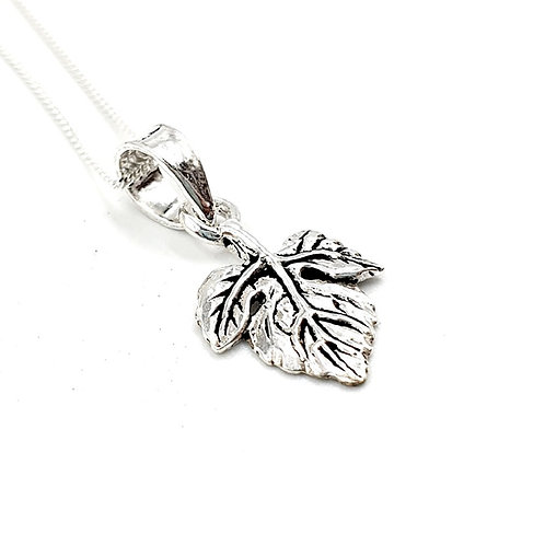 Silver Necklace, Maple, Maple Leaf necklace, Silver Leaf Necklace, Sterling Silver Leaf necklace, Sterling Silver, leaf,