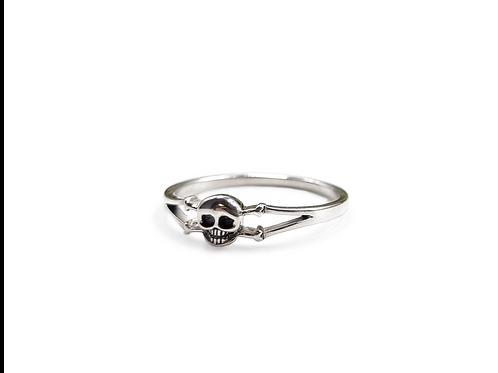 The Skull Bone 925 Sterling Silver Ring