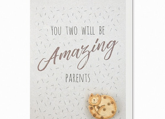 Amazing Parents Greeting Card A6