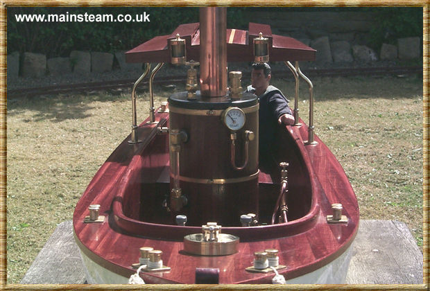 Front View of the Stuart SV4 Boiler