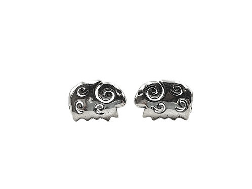 The Little Sheep 925 Sterling Silver Studs