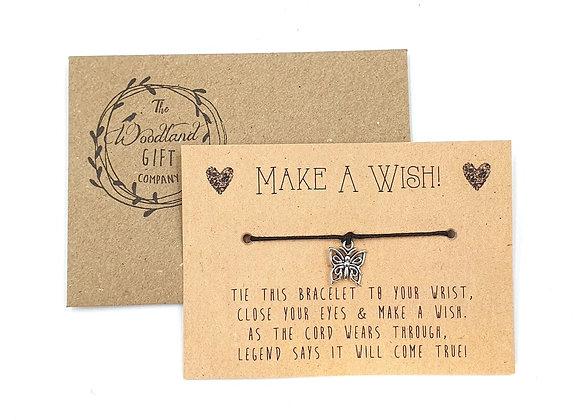 Wish Bracelets, Wish bracelet, Make a Wish bracelets, bracelet, Wedding bracelet, charity, wish, party, Butterfly, Birthday,
