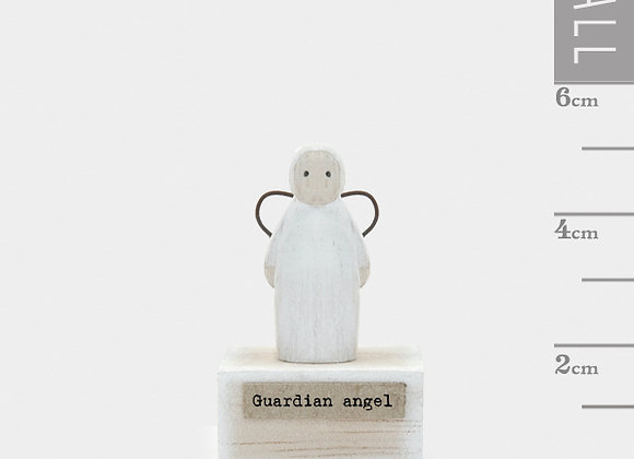 Little Wooden 'Guardian Angel' Mini Angel Figurine