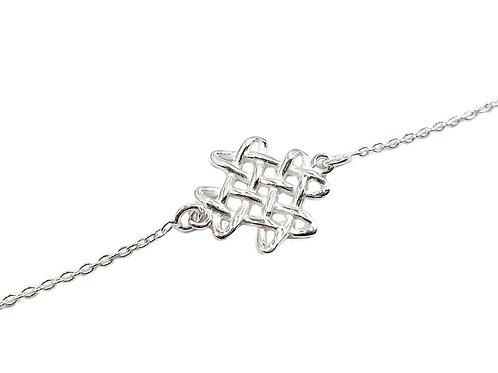 Celtic Knot 925 Sterling Silver Bracelet