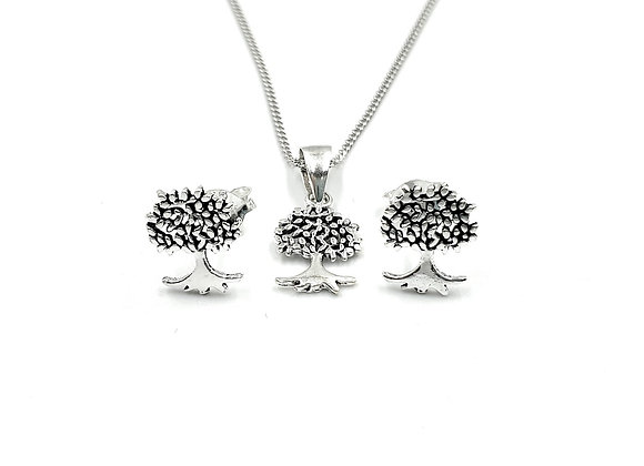 The Little Mulberry Tree Gift Set 925 Sterling Silver