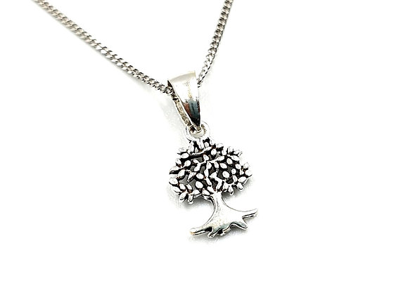tree, Mulberry, Mulberry tree, Silver Tree, Silver Mulberry Tree, silver Mulberry tree necklace, sterling silver Tree,