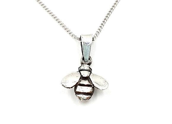 Silver Necklace, Bee, Bee necklace, Silver Bee Necklace, Sterling Silver Bee necklace, Sterling Silver,