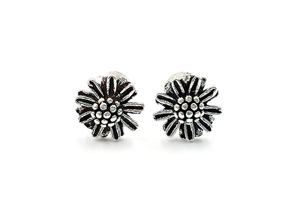 Sterling Silver Earrings, Daisy, Daisy Earrings, Silver Daisy Earrings, Silver Daisy Studs, Sterling Silver Daisy Earrings,