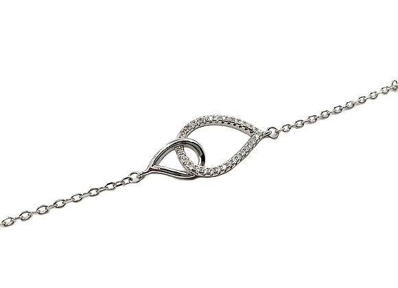 The Togetherness 925 Sterling Silver Bracelet