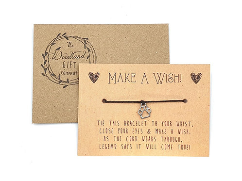 Wish Bracelets, Wish bracelet, Make a Wish bracelets, bracelet, Wedding bracelet, charity, wish, party, Paw, Birthday,