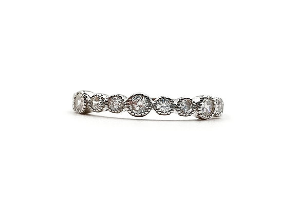 The Elegant Circle 925 Sterling Silver Ring