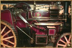 The crankshaft driven water pump