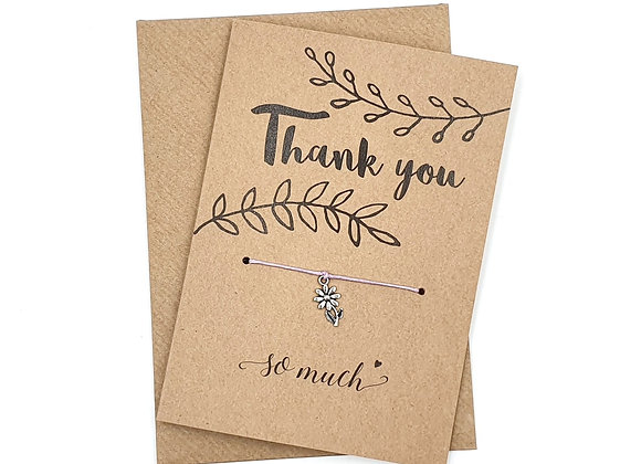 Greetings Cards, Cards, Recycled Cards, Recyclable Cards, Recycled Greeting Cards, Recyclable Greeting Cards, wish, bracelet,