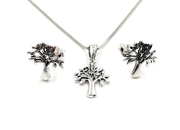 The Maple Gift Set 925 Sterling Silver