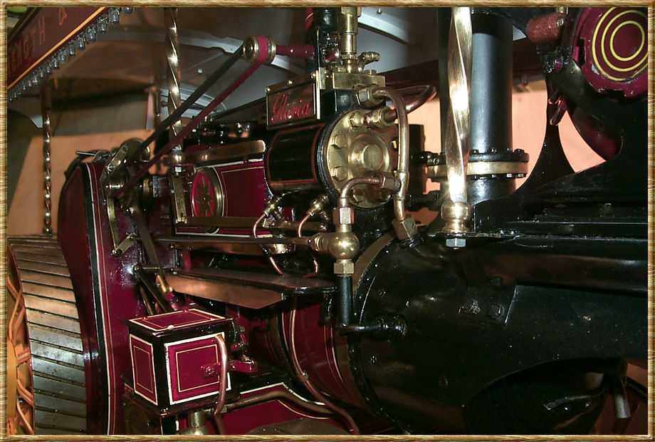 A front closeup of the Engine