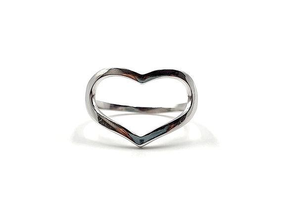 Heart, Rings, Heart Rings, Silver Heart Rings, Sterling Silver Heart Rings, Heart ring, sterling silver Heart, Love,
