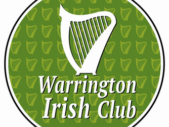 Sunday 23rd April: Friends from Warrington Irish Club will be visiting!