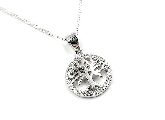 Tree, of, life, Tree of life necklace, Silver tree of life Necklace, Sterling Silver tree of life necklace, Tree Necklace,