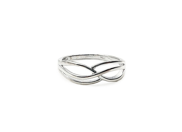 The Together Forever 925 Sterling Silver Ring