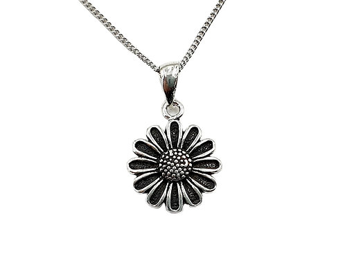 The Sunflower 925 Sterling Silver Necklace