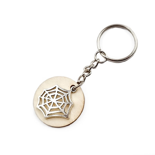 The Spider's Web Key Ring