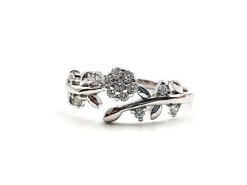 The Flower of the Forest 925 Sterling Silver Ring