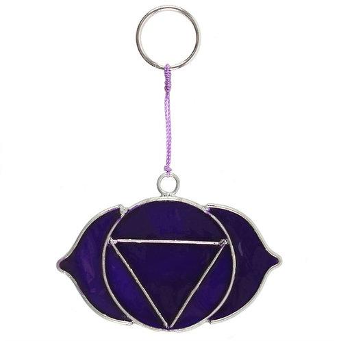 The Third Eye Chakra Hanging Suncatcher