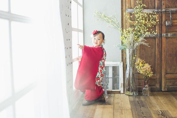 3歳 女の子 赤