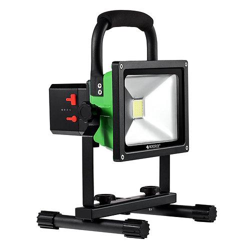 NORDRIDE 4035 - 30W COB LED FLUTLICHTSTRAHLER mit Akku (3000 Lumen)