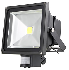 NORDRIDE 4067 - 30W COB LED FLUTLICHTSTRAHLER mit Sensor (3300 Lumen)