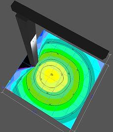 Lichtplanung Kranbeleuchtung NORDRIDE V1