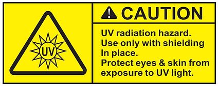UVC Caution Icon.png