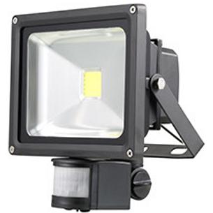 NORDRIDE 4066 - 20W COB LED FLUTLICHTSTRAHLER mit Sensor (2200 Lumen)