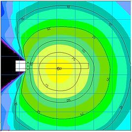 Lichtplanung Kranbeleuchtung NORDRIDE V2