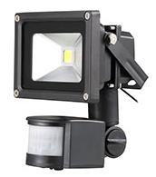 NORDRIDE 4065 - 10W COB LED FLUTLICHTSTRAHLER mit Sensor (1100 Lumen)