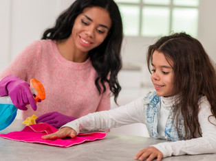 Little Helpers: The Benefits of giving your children chores