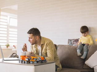 Explaining social distancing to a 3-year-old