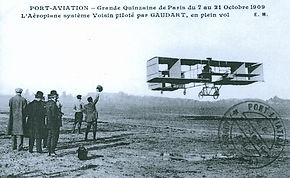 Louis GAUDART à Port Aviation