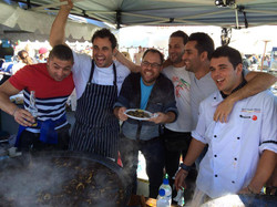 With Miguel Maestre & His Team