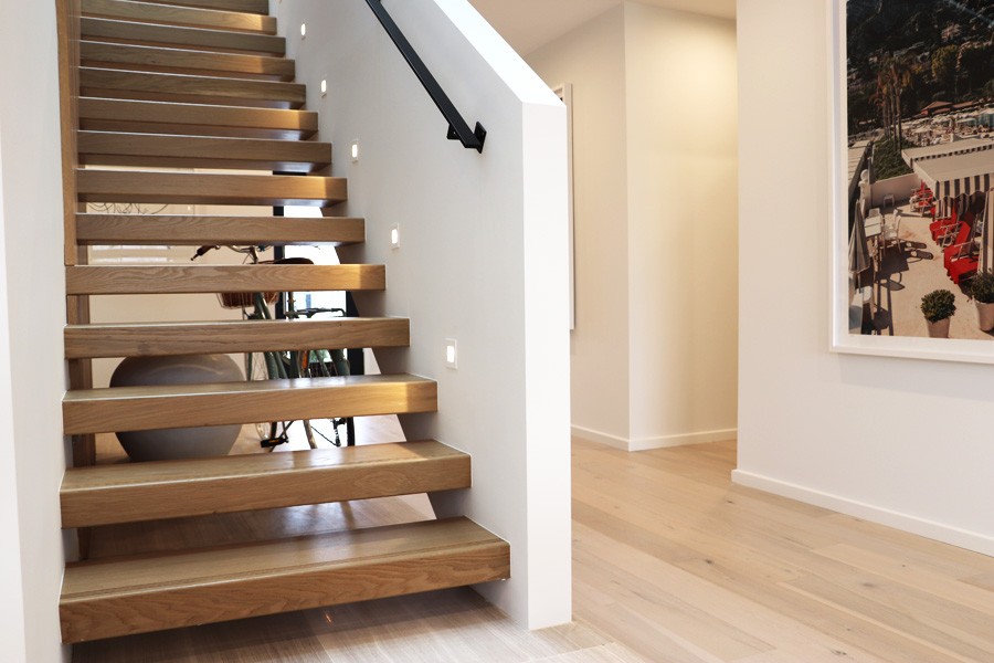 the elegant handrail